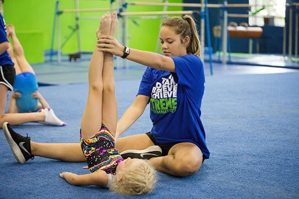 learning gymnastics in lee's summit