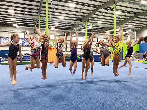girls instructional gymnastics