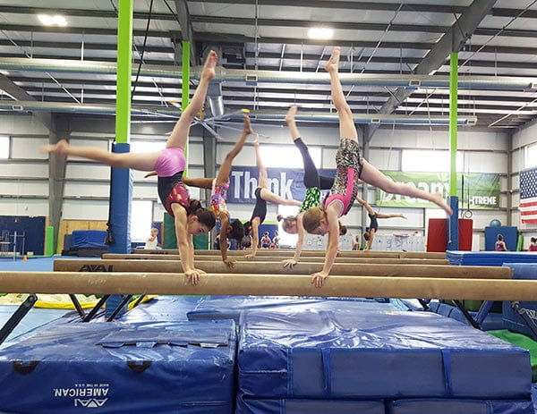homeschool girls instructional gymnastics