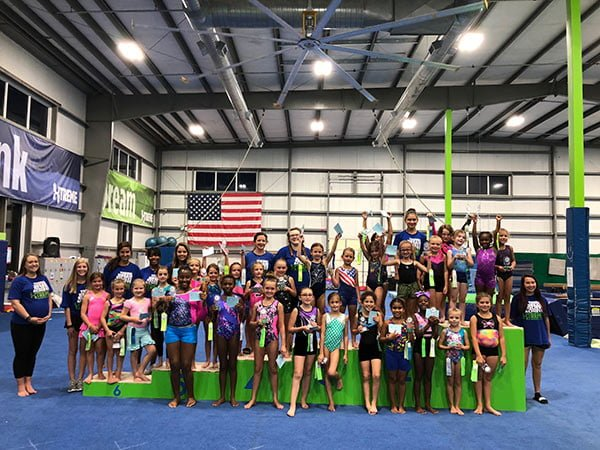 lee's summit gymnastics meets