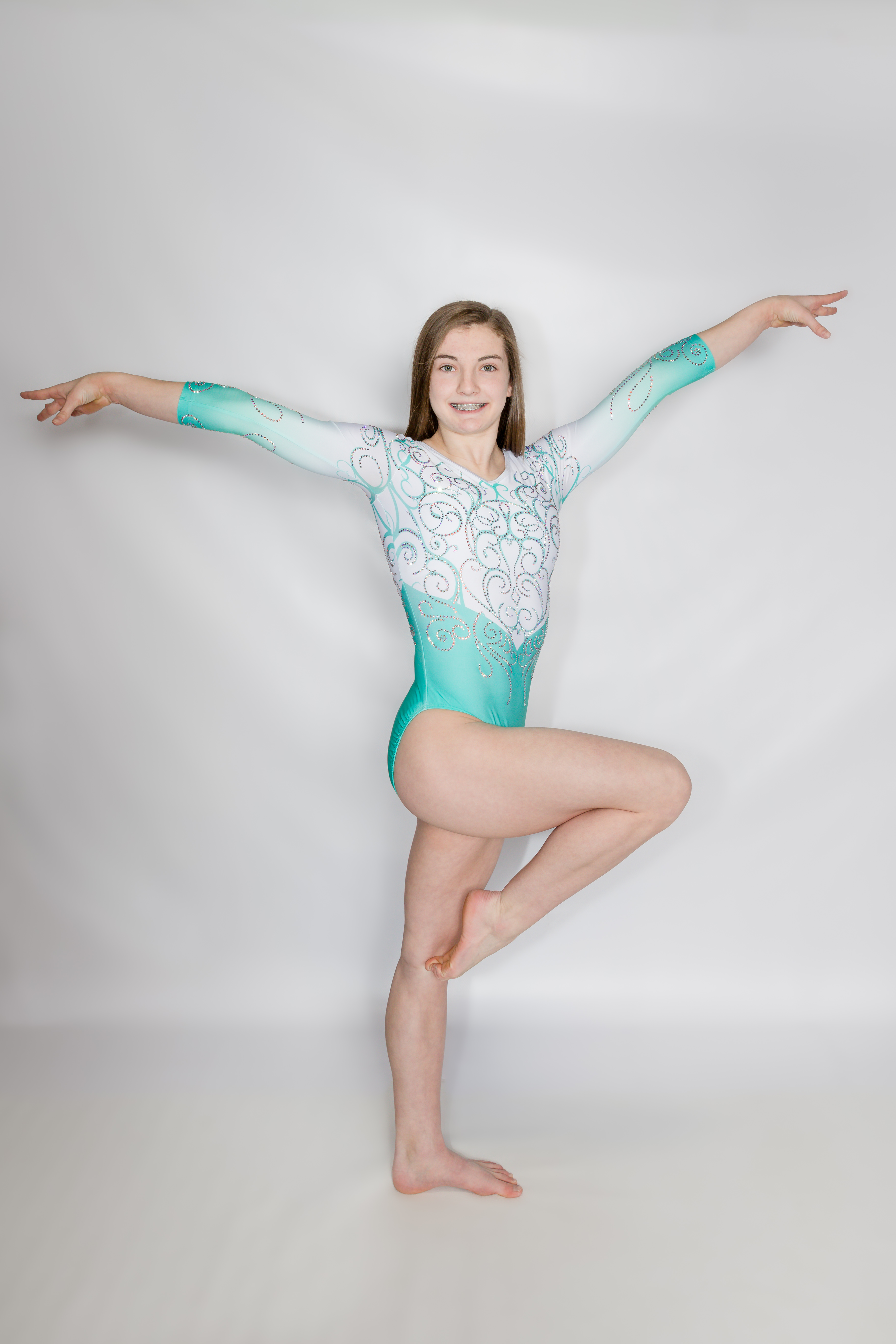 Gymnastics Pose 10
